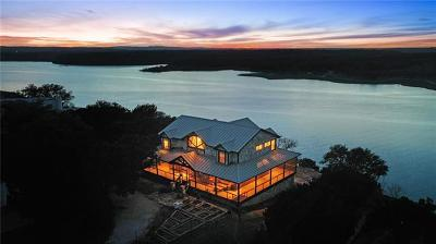 Marble Falls Single Family Home Pending - Taking Backups: 26820 Lookout Ridge Cv