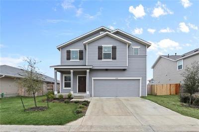 Round Rock Single Family Home For Sale: 7909 Castelardo Pl