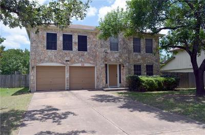 Austin Single Family Home For Sale: 12907 Broughton Way