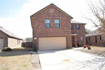 Round Rock Single Family Home For Sale: 1165 Hyde Park Dr