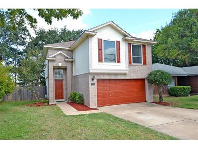 Round Rock Single Family Home Pending - Taking Backups: 1306 Somerset Dr