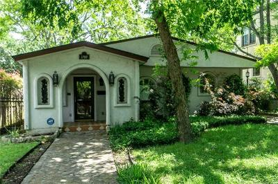 Austin Single Family Home For Sale: 1709 Travis Heights Blvd