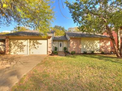 Travis County, Williamson County Single Family Home For Sale: 12113 Missel Thrush Ct