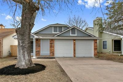 Travis County Single Family Home Pending - Taking Backups: 12905 Staton Dr