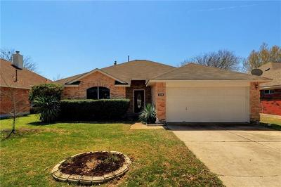 Round Rock Single Family Home For Sale: 3005 Flower Hill Dr