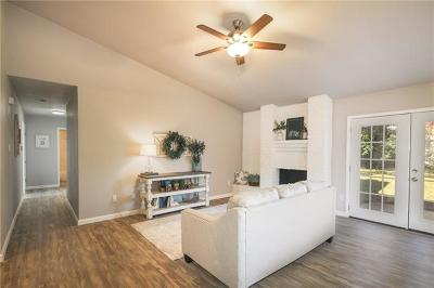 Round Rock Single Family Home For Sale: 1504 Remuda Cir
