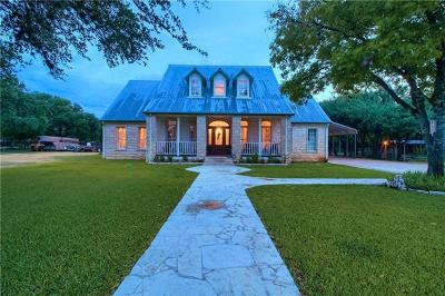 Round Rock Single Family Home For Sale: 1600 Old Settlement Rd