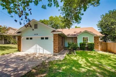 Pflugerville Single Family Home For Sale: 16336 Edgemere Dr