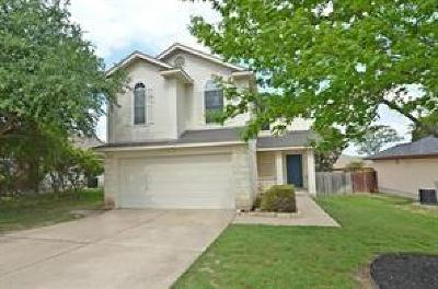 Leander Single Family Home For Sale: 914 Moon Glow Dr SW