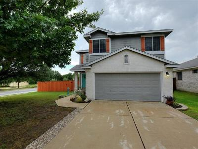 Round Rock Single Family Home For Sale: 3801 Top Rock Ln