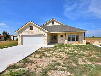 Jarrell Single Family Home For Sale: 343 Meadow Valley Loop
