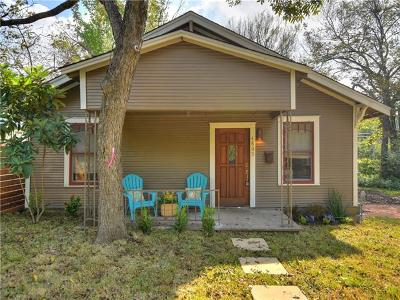 Austin Single Family Home For Sale: 4805 Avenue H #2
