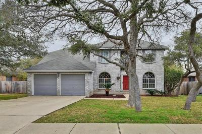 Cedar Park Single Family Home Pending - Taking Backups: 1209 Cedar Brook Dr