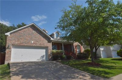 Round Rock Single Family Home For Sale: 8314 Lofty Ln