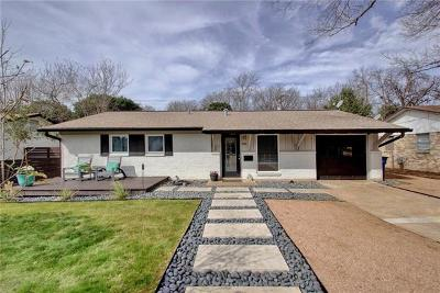 Travis County Single Family Home Pending - Taking Backups: 8404 Briarwood Ln
