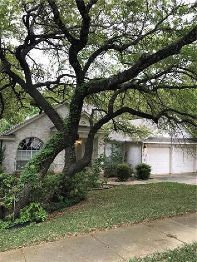 Cedar Park Single Family Home Pending - Taking Backups: 1005 Lone Buck Pass