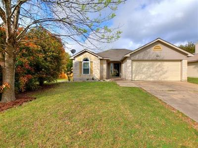 Leander Single Family Home Pending - Taking Backups: 1311 Mason Creek Blvd