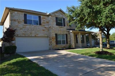 Round Rock Single Family Home For Sale: 707 Wood Mesa Ct