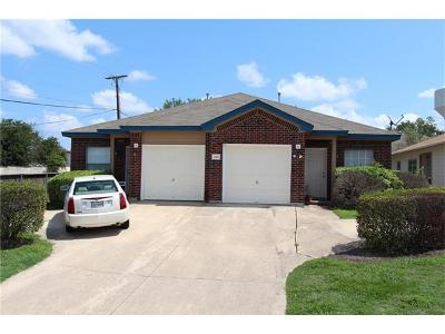 Round Rock Multi Family Home For Sale: 2801 Southampton Way
