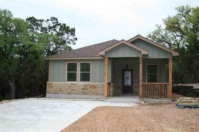 Wimberley TX Single Family Home For Sale: $242,000