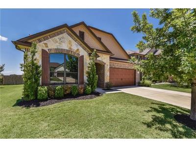 Leander Single Family Home For Sale: 1024 Lily Pad