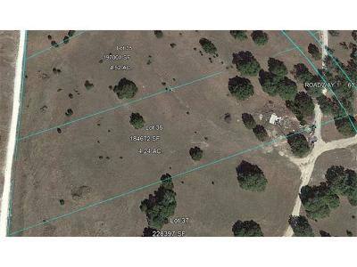 Dripping Springs Residential Lots & Land Pending - Taking Backups: Lot 36 Redemption Way