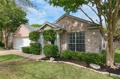 Cedar Park Single Family Home For Sale: 1703 Lion Heart Dr