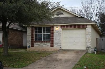 Round Rock Single Family Home Pending - Taking Backups: 1570 Parkfield Cir