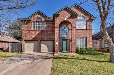 Cedar Park Single Family Home Pending - Taking Backups: 304 N Rainbow Bridge Dr