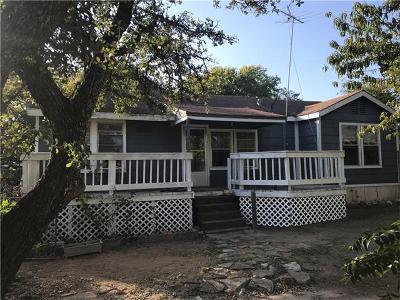 Burnet County Single Family Home Pending - Taking Backups: 805 1/2 White St