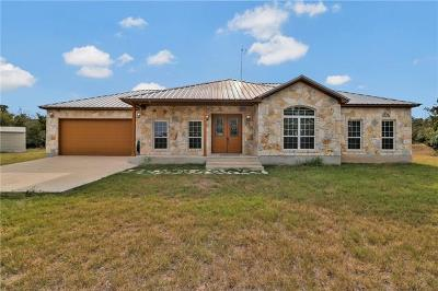 Del Valle TX Single Family Home For Sale: $450,000