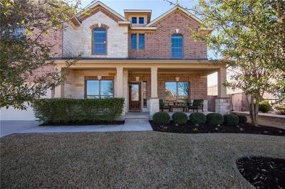 Round Rock Single Family Home For Sale: 4284 Ridgebend Dr