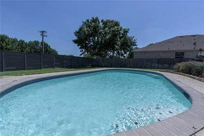 Round Rock Single Family Home Pending - Taking Backups: 16731 Marsala Springs Dr