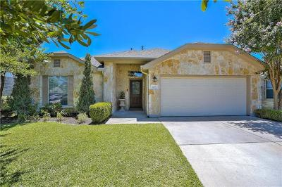 Round Rock TX Single Family Home Pending - Taking Backups: $272,500