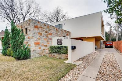 Hays County, Travis County, Williamson County Condo/Townhouse For Sale: 2410 Sharon Ln #A