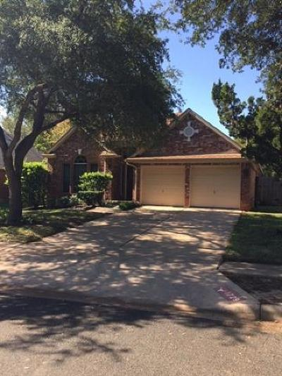 Travis County Single Family Home Pending - Taking Backups: 1729 Dapplegrey Ln