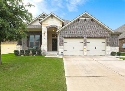 Round Rock Single Family Home For Sale: 2749 Santa Cruz St