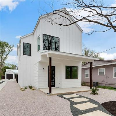 Austin Single Family Home For Sale: 935 E 55th St #A