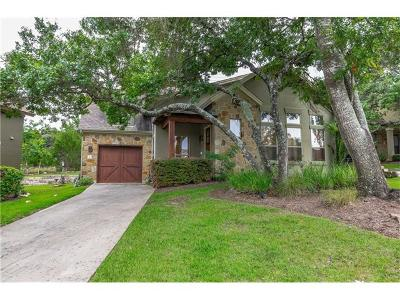 Austin Single Family Home For Sale: 6201 River Place Blvd #8