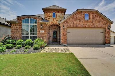 Hutto Single Family Home For Sale: 121 Everglades Cv