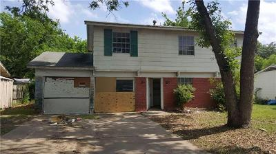 Travis County Single Family Home For Sale: 6807 Langston Dr
