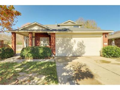 Round Rock Single Family Home Pending - Taking Backups: 405 Grey Feather Ct