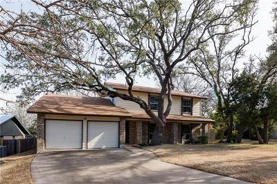 Travis County Single Family Home Pending - Taking Backups: 11903 Conann Ct
