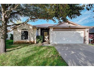 Round Rock Single Family Home For Sale: 3549 Rock Shelf Ln