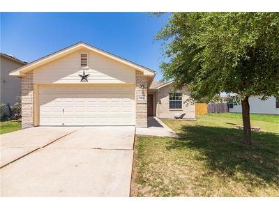 Hutto Single Family Home For Sale: 124 Wegstrom St