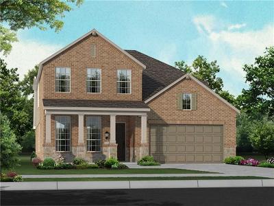 Round Rock Single Family Home For Sale: 6728 Leonardo Dr