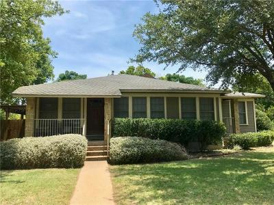 Travis County Single Family Home For Sale: 924 E 52nd St #A