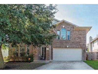 Round Rock Single Family Home For Sale: 3902 Bonnie Ln