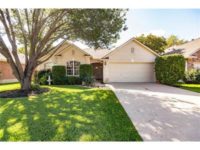 Cedar Park Single Family Home For Sale: 1008 Old Mill Rd
