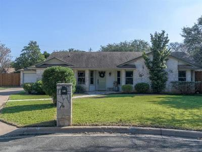 Cedar Park Single Family Home Pending - Taking Backups: 204 Mesa Verde St
